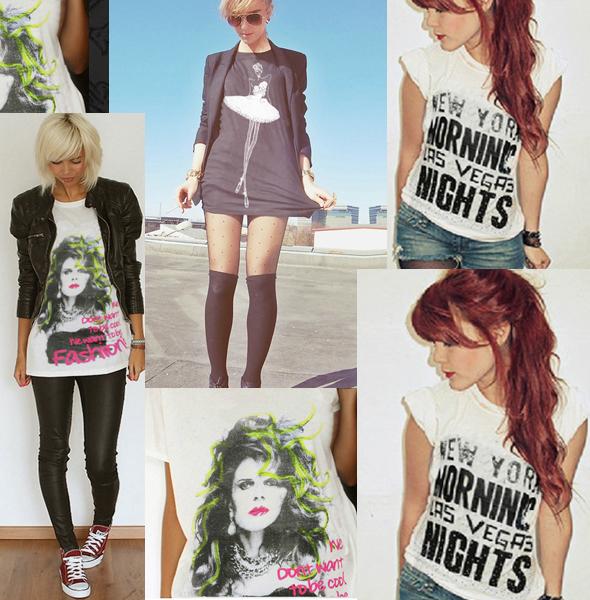 Camisetas Miss couture