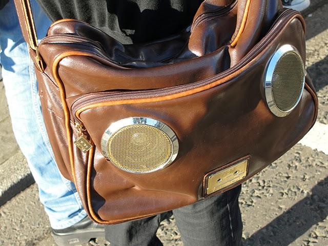 bolsa caixa de som