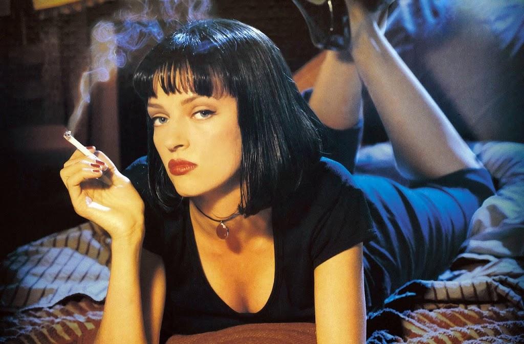 maquiagem Pulp Fiction