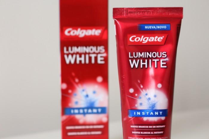 resenha-colgate-luminous-white-instant-embalagem