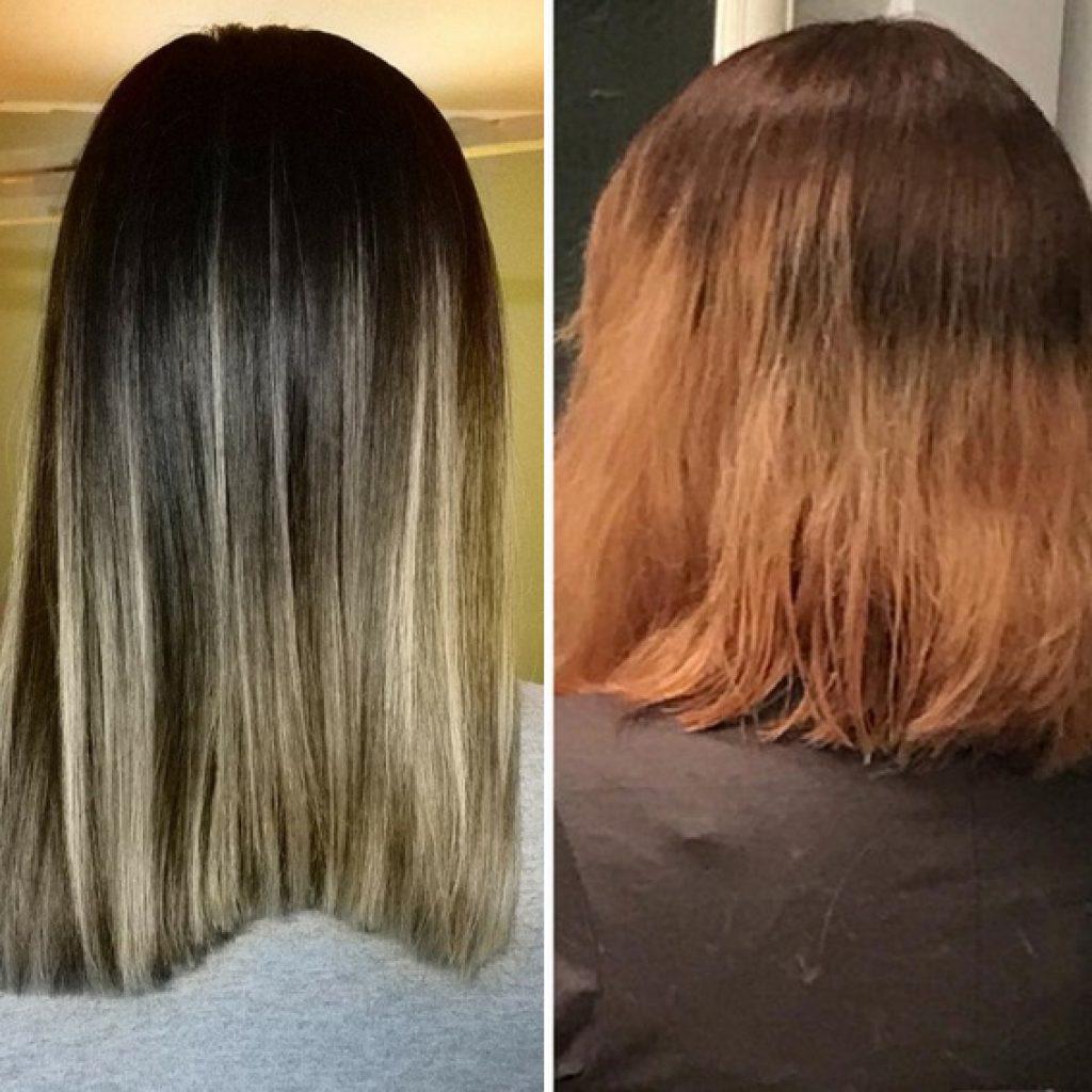 descolorir cabelo em casa