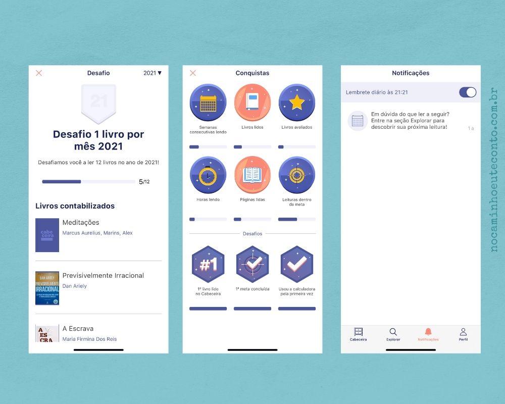 Cabeceira: App para leitores